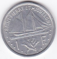 Saint Pierre Et Miquelon – Union Française. 1 Franc 1948 , Aluminium - Colonies