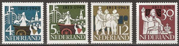 Netherlands, 1963, Independence, MNH, Michel 813-816 - Unclassified