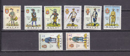 MACAO 403/410 UNIFORMES MILITAIRES  LUXE NEUF SANS CHARNIERE MNH - Nuovi