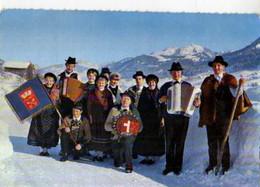 73 FLUMET (Les Pontets) Et Son Groupe Folklorique Le Biau Zize - Other Municipalities