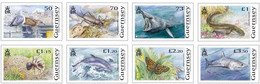 2021 Europa: Endangered National Wildlife, Set Of 8 Stamps, Guernsey, MNH - Guernsey