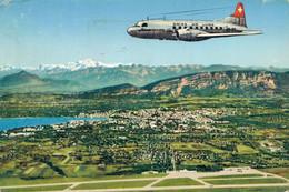 H1203 - Genève - Aéroport - Intercontinental De Genève-Cointrin Et Le Mont Blanc - Unclassified