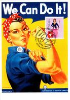 MK 2021 - 50 Jahre Frauenstimmrecht / 50 Years Women's Suffrage / 50 Ans Du Droit De Vote Et D'éligibilité Des Femmes - Maximum Cards