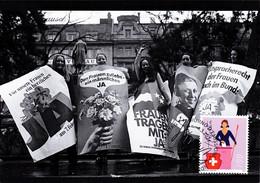 MK 2021 - 50 Jahre Frauenstimmrecht / 50 Years Women's Suffrage / 50 Ans Du Droit De Vote Et D'éligibilité Des Femmes - Maximumkarten (MC)