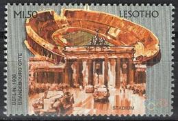 Soccer Football Lesotho 1996 #1164 Olympics Atlanta MNH ** Stadium - Unused Stamps