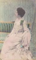 FRASCANI NINA. ARTISTE FÉMININE. DARISCHI ARTICO MILANO. CARTE POSTALE. CIRCA 1900's, NON CIRCULEE.- LILHU - Artistes