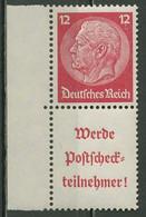 Deutsches Reich Zusammendrucke 1939 Hindenburg S 197 LR Postfrisch - Se-Tenant