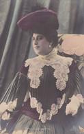 RINA GIACCHETTI. ARTISTE FÉMININE. CARTE POSTALE. CIRCA 1900's, NON CIRCULEE.- LILHU - Artistes