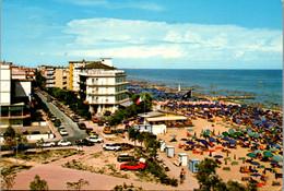 7625 - Italien - Caorle , Spaggia Di Ponente , Strand - Gelaufen 1980 - Venezia (Venedig)