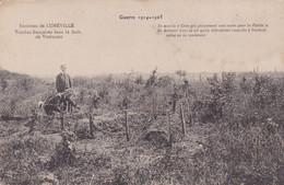 LUNEVILLE, TOMBES FRANÇAISES DANS LA FORET DE VITRIMONT. GUERRE 1914-1915. CARTE POSTALE. NON CIRCULEE.- LILHU - Guerra 1914-18