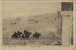 Koksijde Coxyde Guerre 1914 Vision De Plage - Koksijde