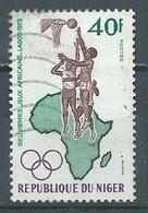 Niger YT N°266 Jeux Africains Lagos 1973 Basket-ball Oblitéré ° - Níger (1960-...)