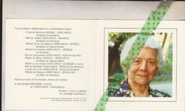 Maria Depickere-Verschaeve, Zonhoven 1918, Torhout 2005 - Obituary Notices