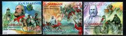 SAN MARINO - 2007 - GIUSEPPE GARIBALDI - 2° CENTENARIO DELLA NASCITA - USATI - Usados