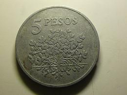 Guiné-Bissau 5 Pesos 1977 - Guinea-Bissau