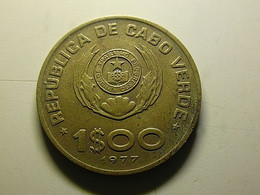 Cabo Verde 1 Escudo 1977 - Cap Verde