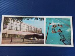 North Caucasus, Russia, Chechnya. GROZNYI Capital. Swimming Pool. 1978.  Long Format - Chechnya