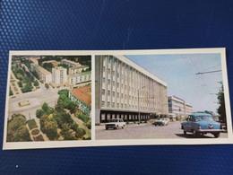 North Caucasus, Russia, Chechnya. GROZNYI Capital. Druzhby Narodov Square. 1978.  Long Format - Chechnya