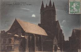 29 - QUIMPERLE - L'Eglise St-Michel Au Clair De Lune - Quimperlé