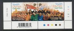 Singapore 2008 Youth Olympic Games MUH - Singapore (1959-...)