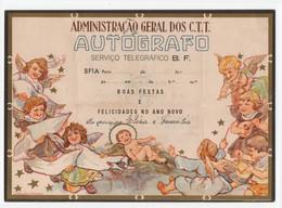 CTT Servico Telegrafico BF Portugal Telegrama De Boas Festas Christmas Greetings Telegram - Covers & Documents