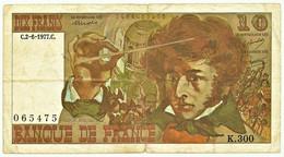 FRANCE - 10 Francs - 02.06.1977 - P 150.c - Serie K.300 - Hector Berlioz - 10 F 1972-1978 ''Berlioz''