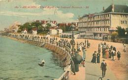 33 - Arcachon - Le Boulevard Promenade    T 2276 - Arcachon