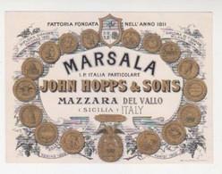 "Etichetta Vino ""Ditta HOPPS Marsala"" -Italy Italia - Non Classificati"