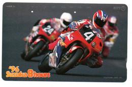 Moto Motorbike  Télécarte Phonecard Japon (T 197) - Moto