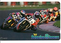 Moto Suzuki  Motorbike  Télécarte Phonecard Japon (T 199) - Moto