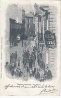 TEMPIO PAUSANIA-SASSARI-VIA ROMA-ANIMATISSIMA-CARTOLINA VIAGGIATA IL 22-3-1902 - Sassari