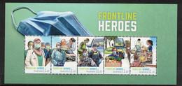 AUSTRALIA, 2021 FRONTLINE HEROES MINISHEET MNH - Neufs
