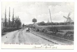 Heist-op-den-Berg - Steenweg Naar Boisschot - Molen. - Heist-op-den-Berg