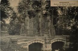 Noorderwijk - Norderwyck (Herentals) Kasteel Van Graaf De Ghellinck - Ingang Park 1923 - Herentals
