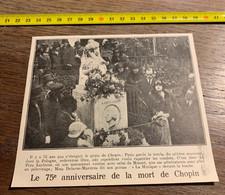 Années 20 PATI 75 Eme Anniversaire Mort De Chopin Delarue Mardrus - Verzamelingen