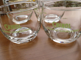4 BICCHIERI DELLA CHINOL APERITIVO SUPER LEGGERO .- - Glasses