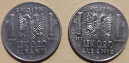 ALBANIA LEK 0,20 ANNI 1939-40 - Albania