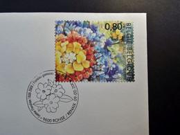 Belgie - Belgique - 2008 - OPB 3753 - Gentse Floraliën - 1 Enveloppe Afgestempeld  09.02.2008 Ronse - Gebraucht