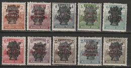 Hongrie 1919, N° 264 -273 * - Ungebraucht