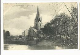 Finistère , Rosporden , L'église Et L'étang - Andere Gemeenten