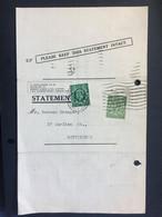 GEORGE V `Higgins, Eagle & Co.` Statement Entire - 3 Scans - Cartas