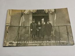 Visite De S. A. R. La Grand-Duchesse Et Le Prince Félix A La Caserne Luxembourg 1919. Th. Wirol - Altri