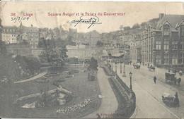 03- 2021 - BELGIQUE - LIEGE  - Square Notger Et Palais Du Gouverneur - Liège