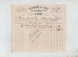 Saché Lyon 1887 Franc Saint Rambert En Bugey Porcelaines Cristaux Services De Table Thé Café - 1800 – 1899