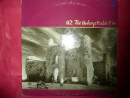 LP33 N°7690 - U2 - THE UNFORGETTABLE FIRE - 822 898-1 - PG 224 - Rock