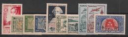 Tunisie - 1948-49 - Année Complète - Du N°Yv. 324 Au 333 - Neuf  Luxe ** / MNH / Postfrisch - Unused Stamps