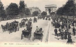 75 PARIS L'AVENUE DU BOIS DE BOULOGNE - Arc De Triomphe