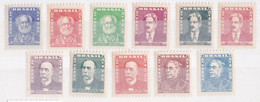 Brazilië 1954-55, Postfris MNH, Persons - Nuevos