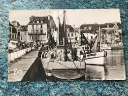 Carte Photo Le Croisic Bateaux  De Pêche Au Port. Voir Photos - Le Croisic
