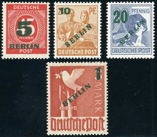 Berlin Mi 64 - 67 **  Postfrisch ,  Einwandfrei - Unused Stamps